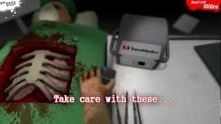 Surgeon Simulator 2013 - Successful heart transplant [Rating: A++]