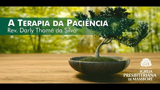 A Terapia da Paciência   Rev. Darly Thomé da Silva