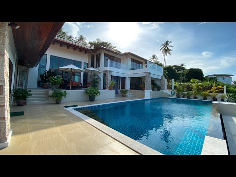 700 Sq Meter Luxurious Seaview Villa In Koh Samui | Thailand