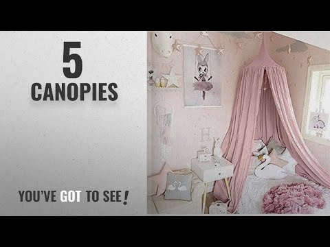Top 10 Canopies [2018]: Bed Canopy for children, Cotton Mosqutio Net Hanging Curtain, Baby Indoor