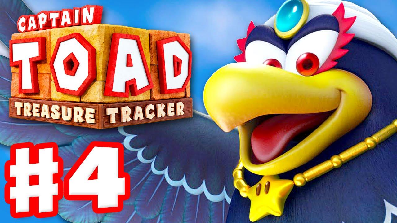 Captain Toad: Treasure Tracker - Gameplay Walkthrough Part 4