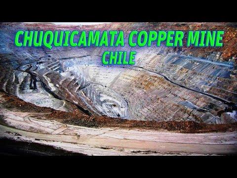 The Giant Holes: Chuquicamata Copper Mine, Chile #Vendora