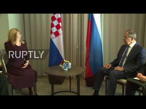 Russia: Lavrov lauds Croatia's 'multi-vector foreign policy'