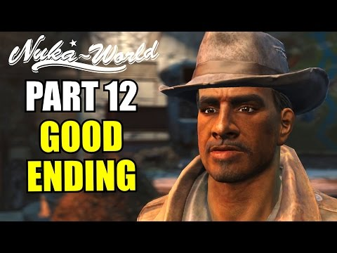 FALLOUT 4 NUKA WORLD GOOD ENDING - DLC Gameplay Walkthrough