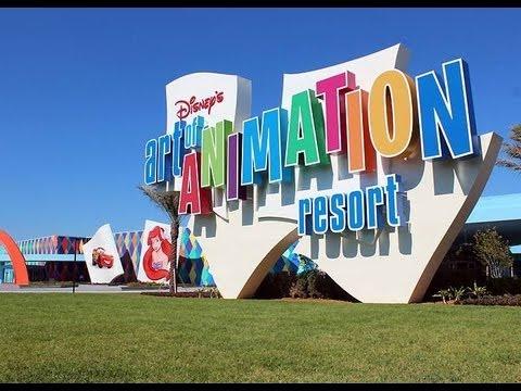 Art Of Animation Hotel Disney World Florida