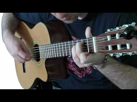 Classical Gas - Solo Fingerstyle Guitar