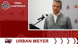 Ohio State Football-Urban Meyer 10-20-18