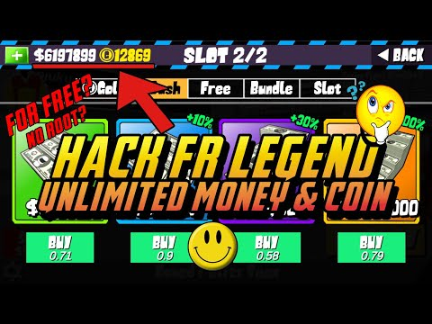 FR LEGENDS HACK | Easy Hack Coin And Money Use Lucky Patcher | No Root