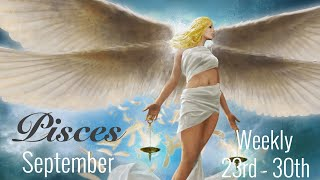 PISCES WEEKLY SEPT 23rd - 30th | THEY WANT TO COME BACK TO COMFORT - Pisces Tarot Love Reading