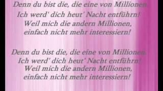 Rapsoul - Eine von Millionen (lyrics)