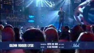 Idol 2007 - Glenn Lyse - You Know My Name