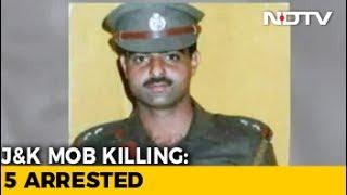 5 Arrested For Killing Of Srinagar Police Officer, Special Probe Team Formed