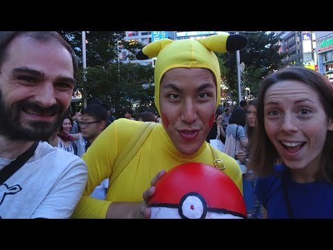 Playing Pokemon Go in Tokyo, Japan | July 23, 2016