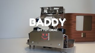 BADDY V2 DIY Tutorial #2- Frame