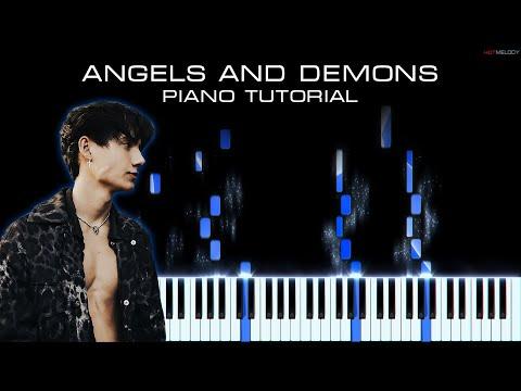 Jaden Hossler (jxdn) – Angels and Demons | Piano Cover | Remix, Karaoke