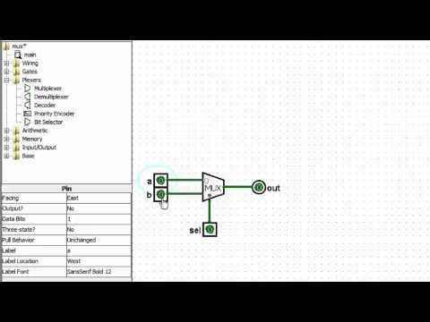 Logisim Part 9 Multiplexers And Comparators