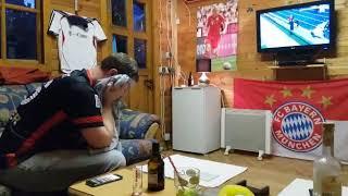 DFB POKAL! FCB-SGE! 93.MINUTE! EINTRACHT FAN UWE FLIPPT AUS!