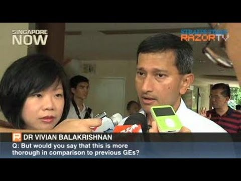 Interview with Dr Vivian Balakrishnan (Part 1)