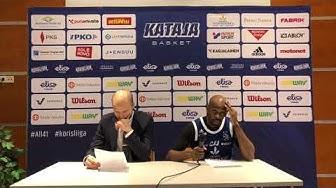 Lehdistötilaisuus | Kataja Basket - Helsinki Seagulls 71-85 | 7.3.2020