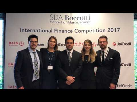 3rd International Finance Competition in Milan, Italy