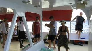 Antigua catamaran dance 2012