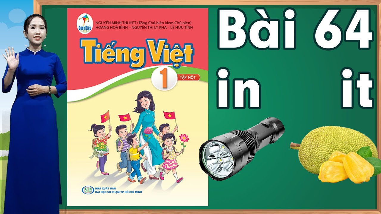 Tiếng việt lớp 1 sách cánh diều - Bài 64 |Bảng chữ cái tiếng việt |learn vietnamese