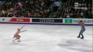 ISU WORLD 2013 - PAIRS FP -16/18- Tatiana VOLOSOZHAR  Maxim TRANKOV - 15.03.2013