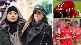 Top Muslim Footballers Lovely Wife and Girlfriends In 2018 (WAGs) You Should Know