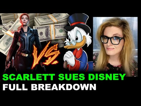 Scarlett Johansson Settles Lawsuit With Disney (DIS)