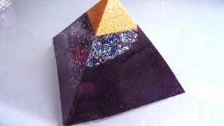 MAX EPOXY CASTING BASICS.  HOW TO MAKE AN ORGONITE.
