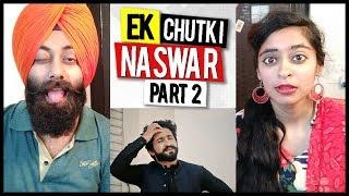 Indian Reaction on Ek Chutki Naswar (Part 2) | Our Vines & Rakx | Emoji Challenge