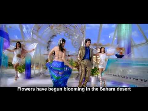 Sivaji -TheBoss Sahara telugu song Rajni Kanth and Shreya looks nice