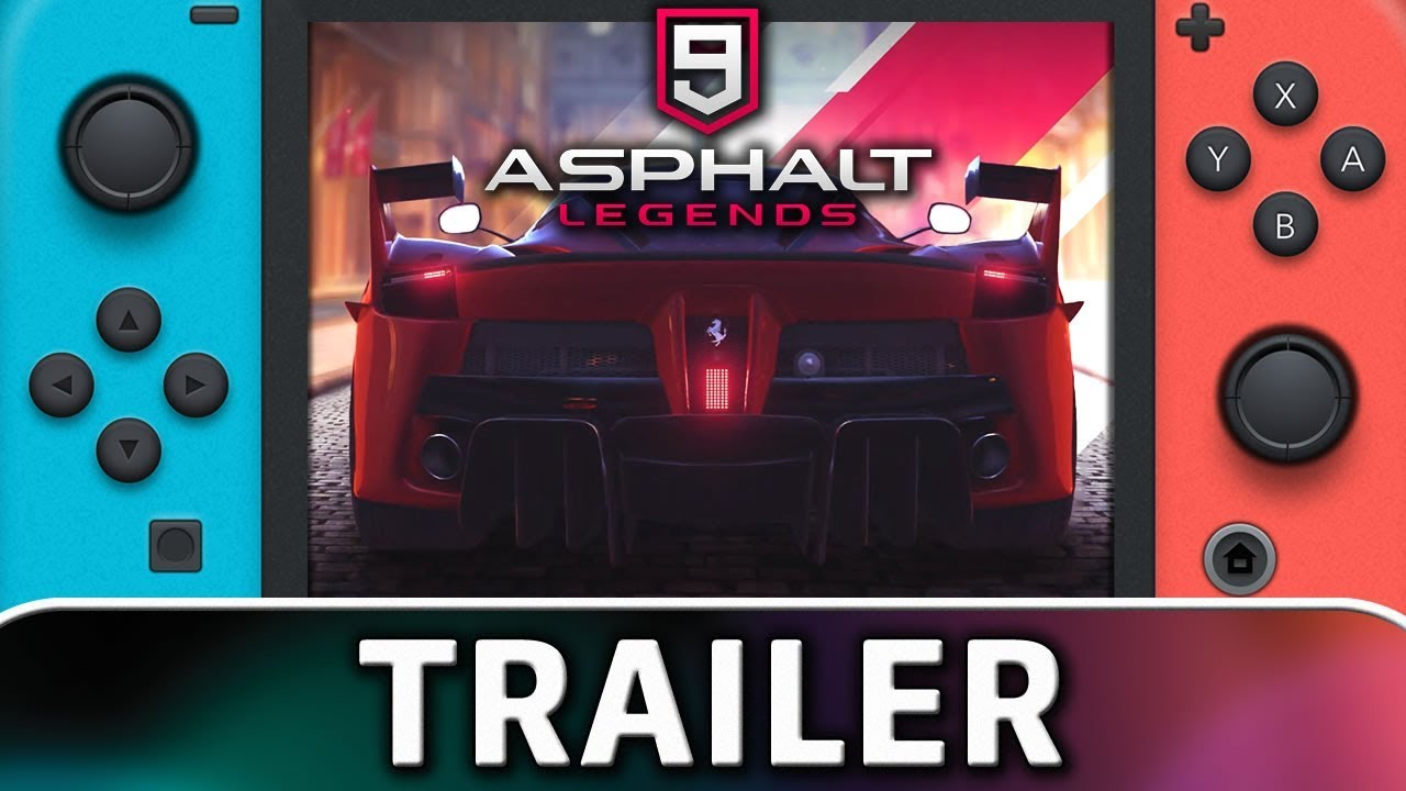 Asphalt 9: Legends is coming to Nintendo Switch | TRAILER