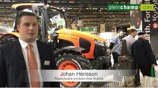 [Sima] Tracteurs M5001 : le pitch de Kubota