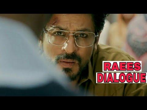 Raees🔫 Best Dialogues | SRK What's App Status Video | Shah Rukh Khan |