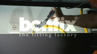 Gasaansluitkranen, aansluitstukken en gasslangen | superieure RVS gasaansluitleiding | BONFIX B.V.
