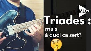 Triades : Comprendre leur importance dans l'improvisation à la guitare