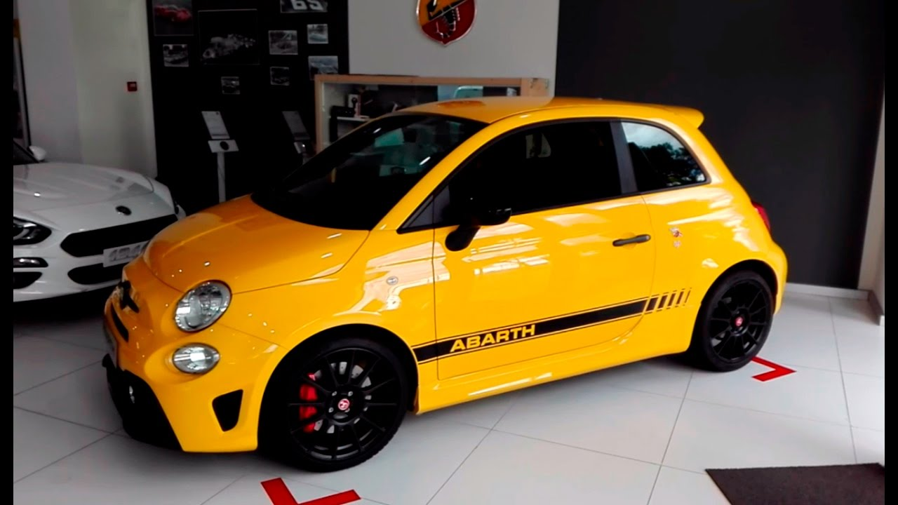 2016 Fiat 500 Abarth >> Abarth 595 Competizione MY16 - YouTube