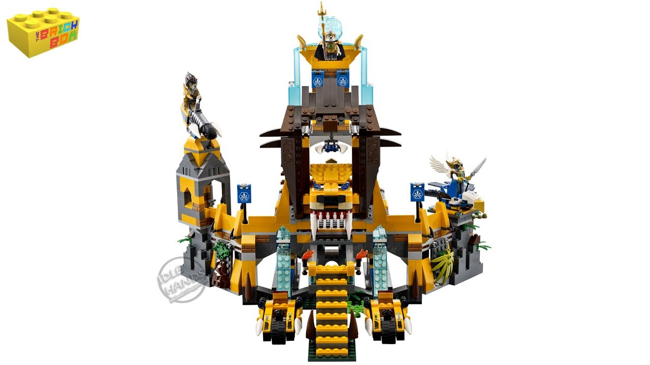 LEGO The Lion CHI Temple Instructions 70010, Legends of Chima