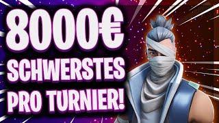 😵🔥8.000€ HARDCORE TURNIER!   3 Stunden ohne Pause Solo vs Squad!