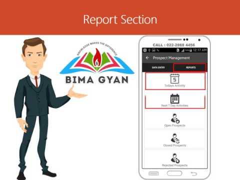 BimaGyan Prospect Management System (PMS)
