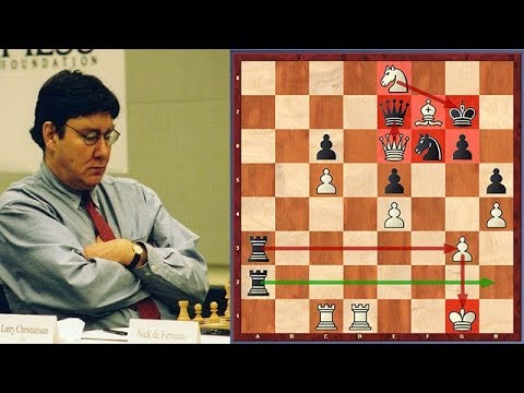 Must See! One Of The Greatest Swindles In Chess