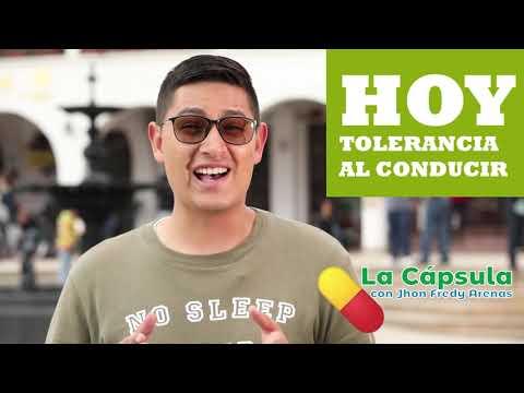 TOLERANCIA AL CONDUCIR