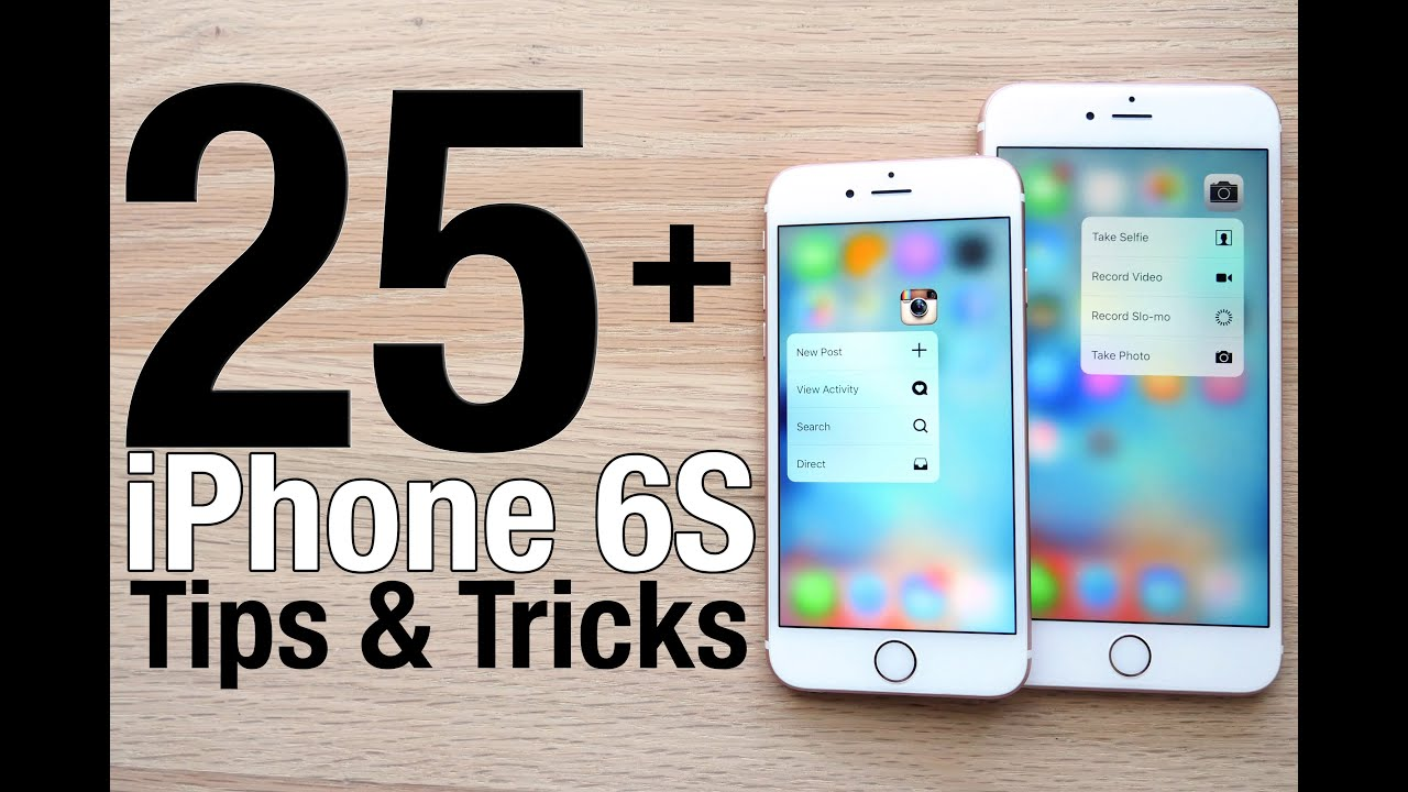 25+ Tips & Tricks for iPhone 6S! 3D Touch Hidden Features