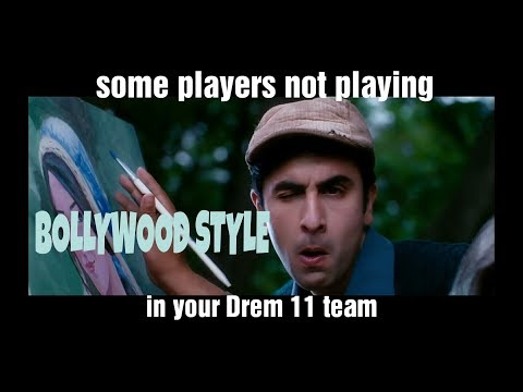 IPL stories in bollywood style - Bollywood song vine