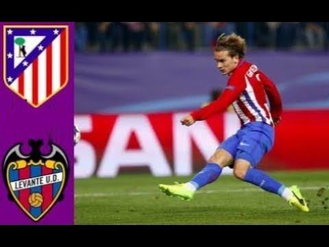 Atlético Madrid Vs Levante La Liga 15/04/2018