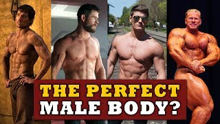 What's Considered The Perfect Male Body? (The Adonis Index)
