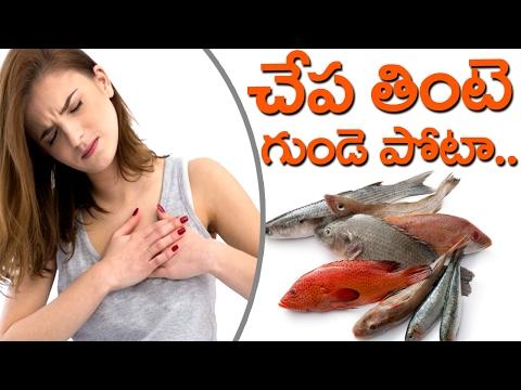 Is Eating  Fish Good For Health ? || చేపలు తినడం వల్ల గుండెపోటు వస్తుందా?