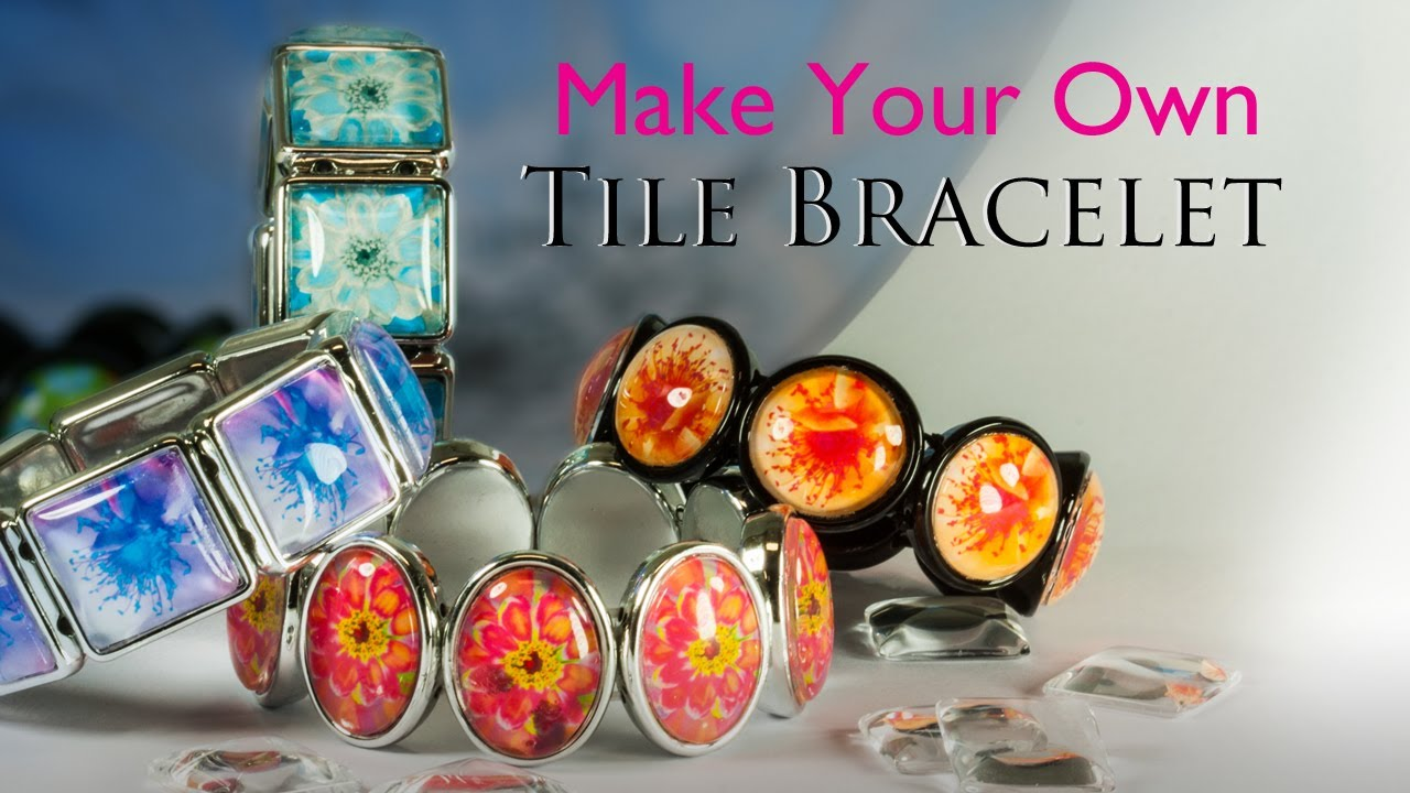 Make Your Own Tile Bracelet Gl Jewelry Making Kit You