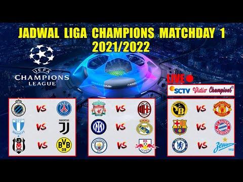 Jadwal Liga Champions 2021 Matchday 1 Live SCTV ~ BARCELONA VS MUNCHEN | LIVERPOOL VS AC MILAN